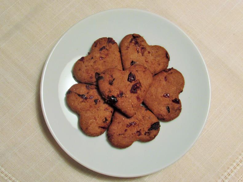 dietetyczne pierniczki z mąki żytniej bez cukru