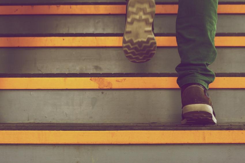 dążenie do celu krok po kroku