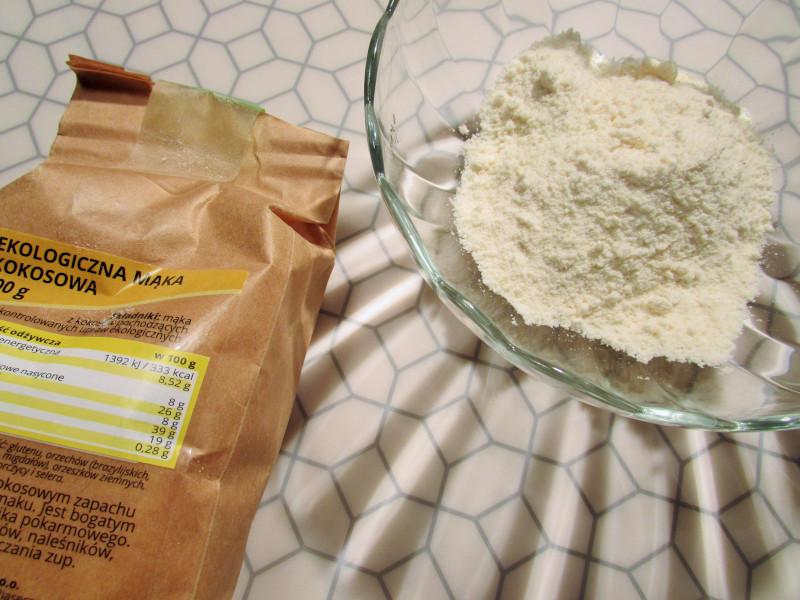 mąka kokosowa bez glutenu