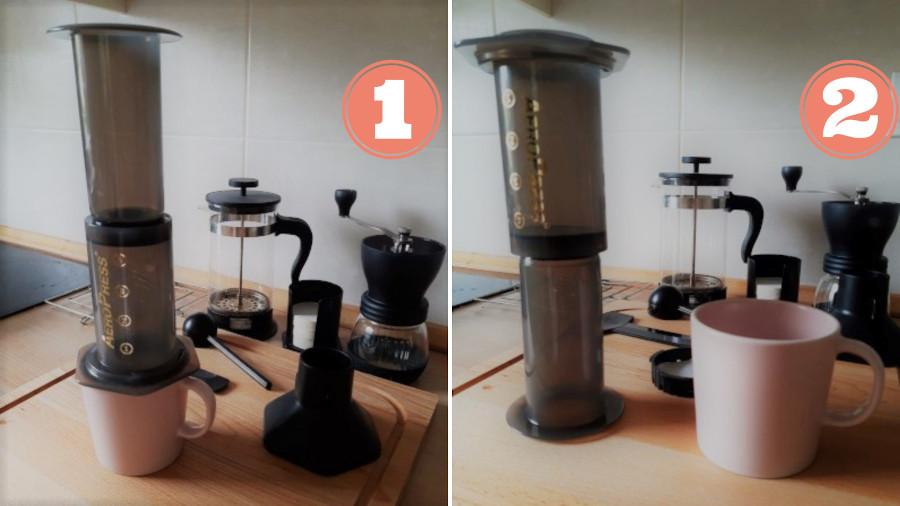 metody parzenia kawy w aeropressie